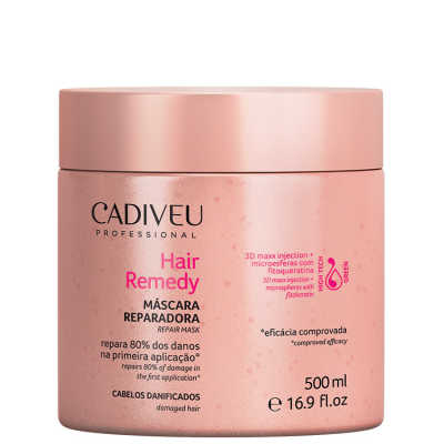 Cadiveu Professional Hair Remedy Reparadora - Máscara 500ml