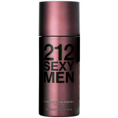 Carolina Herrera 212 Sexy Men Deo Spray - Desodorante Corporal 150ml