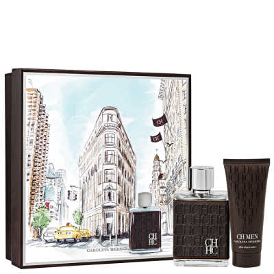 Conjunto CH Men Carolina Herrera Masculino - Eau de Toilette 100 + Pós-Barba 100ml