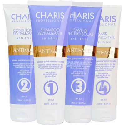 Charis Anti Age Kit Completo (4 Produtos)