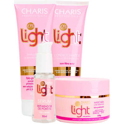 Charis Light Kit Completo (4 Produtos)