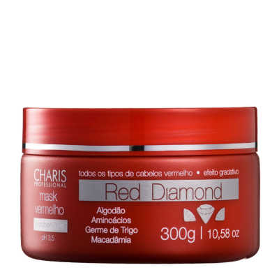 Charis Red Diamond Mask - Máscara de Tratamento 300g