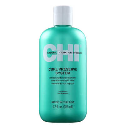 CHI Curl Preserve System Treatment - Tratamento Condicionante 300ml