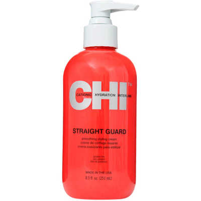 CHI Straight Guard Smoothing Styling Cream - Leave-In Defrizante 251ml