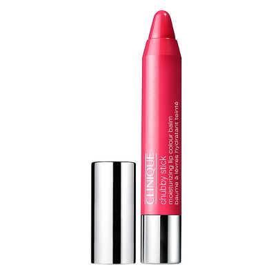 Clinique Chubby Stick Moisturizing Lip Balm Plumped Up Pink - Batom 3g