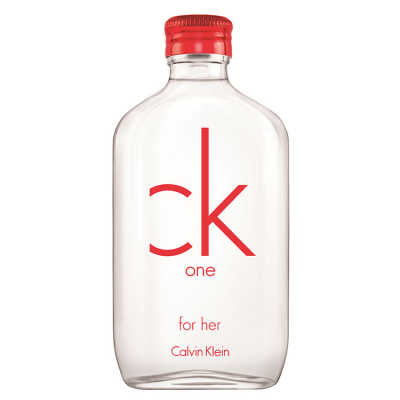 Calvin Klein CK One Red Edition for Her Perfume Feminino - Eau de Toilette 100ml