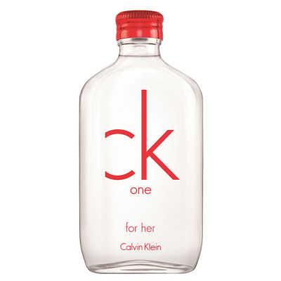 Calvin Klein CK One Red Edition for Her Perfume Feminino - Eau de Toilette 50ml