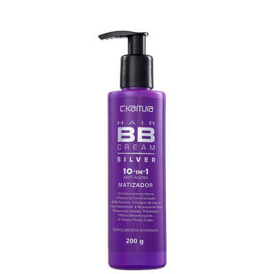 C.Kamura BB Cream Hair 10-In-1 Silver - Tratamento 200g