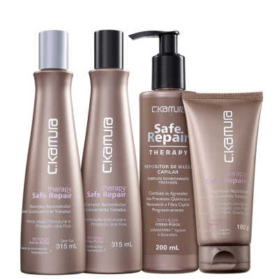 C.Kamura Therapy Safe Repair Amino-Force Kit (4 Produtos)