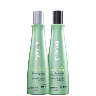 C.Kamura Treatment Scalp Force Duo Kit (2 Produtos)