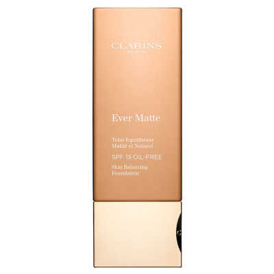 Clarins Ever Matte Teint Equilibrant Matité Et Naturel Spf 15 113 Chestnut- Base 30ml