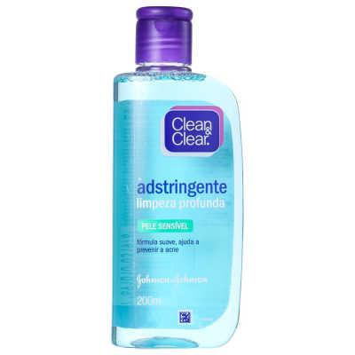 Clean & Clear Limpeza Profunda Pele Sensível - Adstringente 200ml
