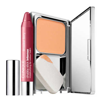 Clinique Makeup Intense Toasted Berry Kit (2 Produtos)