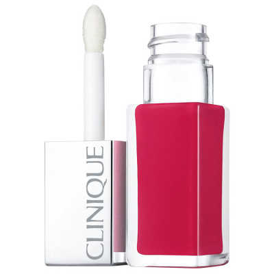 Clinique Pop Lacquer Lip Colour + Primer 4 Sweetie Pop - Batom Líquido 6,5g