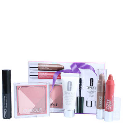 Clinique Primed, Pink & Plush Gift Set Kit (5 Produtos)
