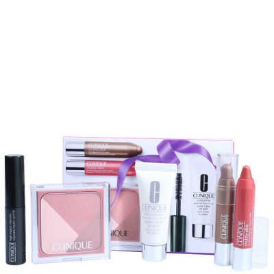 Clinique Primed, Pink & Plush Gift Set Kit (5 Produtos)