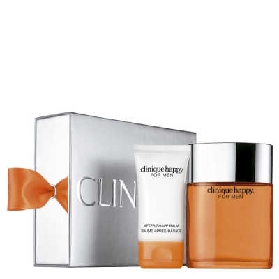 Clinique Conjunto Masculino Happy for Him - Eau de Cologne 100ml + Pós-Barba 50ml