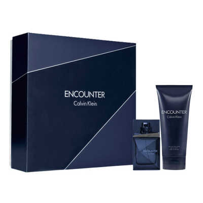 Calvin Klein Conjunto Masculino Encounter - Eau de Toilette 50ml + Gel de Banho 100ml