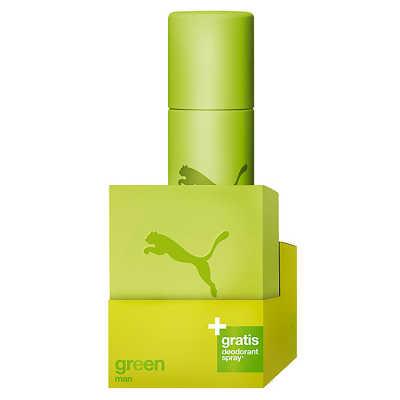 Puma Conjunto Masculino Green - Eau de Toilette 40ml + Desodorante 150ml
