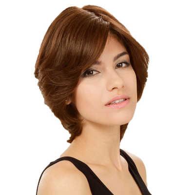 Crown Wigs Amanda Cor Castanho Claro - Peruca 25cm