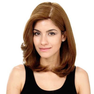 Crown Wigs Carol Cor Louro Claro/Escuro - Peruca 35cm