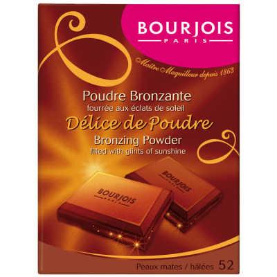 Bourjois Délice de Poudre Bronzante - 52 - Mates/Halees