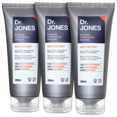 Dr. Jones Abdoburn Triplo Kit (3 Produtos)