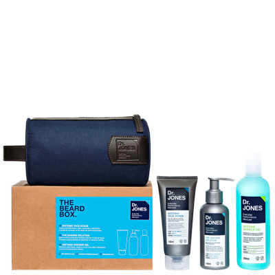 Dr. Jones The Beard Box Kit (3 Produtos + Nécessaire)