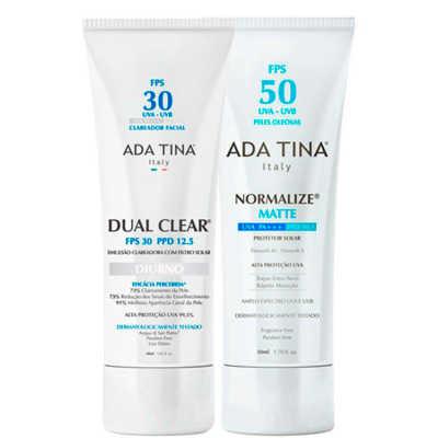 Ada Tina Dual Clear Normalize Matte Kit (2 Produtos)