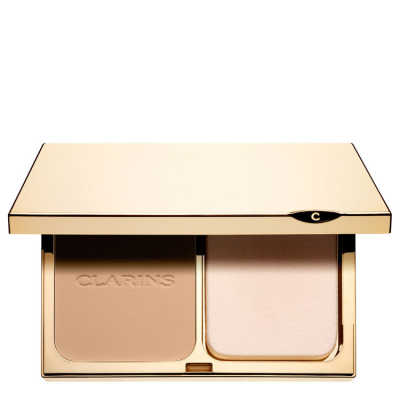 Clarins Everlasting Compact Foundation Spf 15 112 Amber - Base Compacta