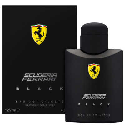 Ferrari Black - Eau de Toilette 125ml
