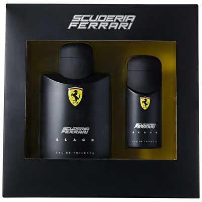 Ferrari Conjunto Masculino Scuderia Ferrari Black - Eau de Toilette 125ml + Eau de Toilette 30ml
