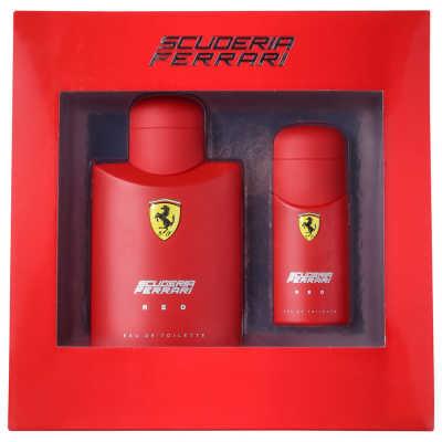 Ferrari Conjunto Masculino Scuderia Ferrari Red - Eau de Toilette 125ml + Eau de Toilette 30ml
