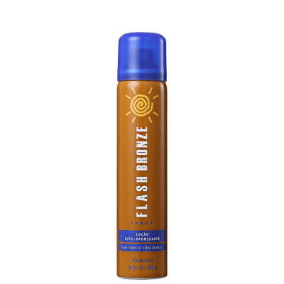 Flash Bronze Loção Auto-Bronzeante Spray - Autobronzeador 100ml