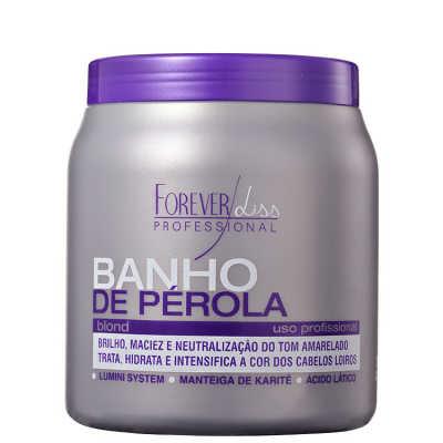 Forever Liss Professional Banho de Pérola - Máscara Matizadora 1000g