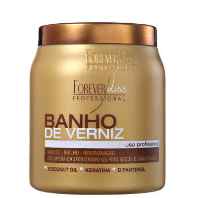 Forever Liss Professional Banho de Verniz - Máscara 1000g