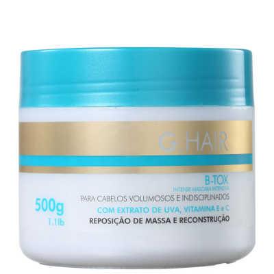 G.Hair B-Tox Reposição de Massa e Reconstrução - Máscara 500g
