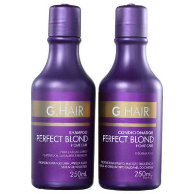 G.Hair Duo Perfect Blond Home Care Kit (2 Produtos)