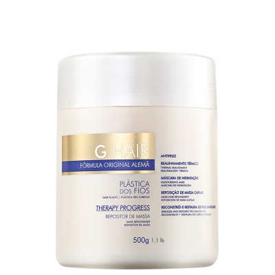 G. Hair Therapy Progress Repositor de Massa - Máscara de Tratamento 500g