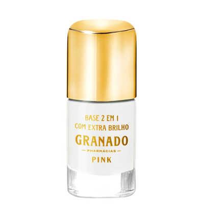 Granado Pink 2 em 1 Com Extra Brilho - Base 10ml