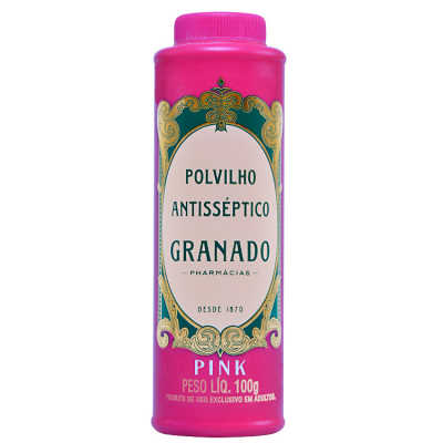 Granado Pink Polvilho Antisséptico - Talco 100g