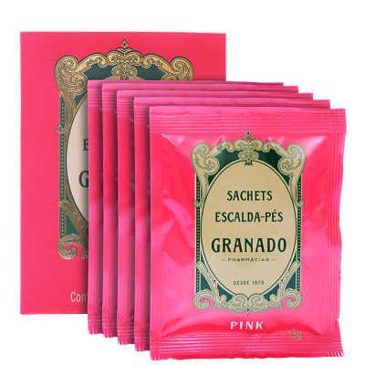 Granado Pink Sachet Escalda-Pés - Sais Relaxantes 5x15g
