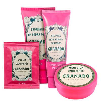 Granado Pink SPA Relaxante para os Pés Kit (4 Produtos)
