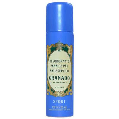 Granado Sport Para Os Pés Antisséptico - Desodorante Aerossol 100ml