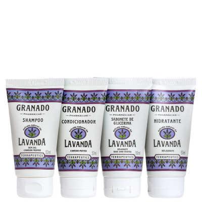 Granado Terrapeutics Kit Banho Purificante Lavanda - 4x 50ml