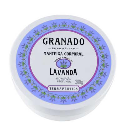 Granado Terrapeutics Lavanda Manteiga Corporal - Hidratante 200g