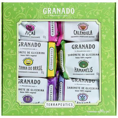 Granado Terrapeutics Mix - Kit de Sabonetes 6x 90g