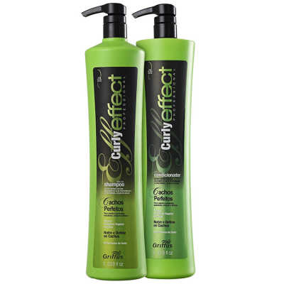 Griffus Curly Effect Duo Kit Professional (2 Produtos)