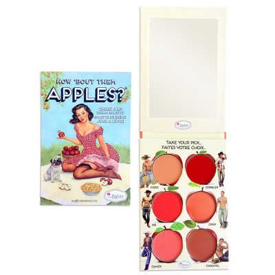 the Balm How'Bout Them Apples - Paleta de Blush e Batom 20g