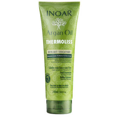 Inoar Argan Oil Thermoliss Desfrizante Termoativado - Bálsamo Antifrizz 240ml